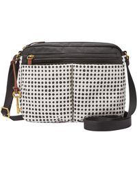 Fossil - Bailey Dotted Crossbody Bag - Lyst