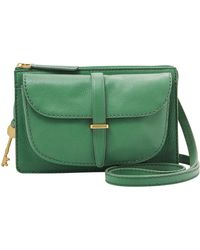 Fossil - Small Ryder Leather Crossbody Bag - Lyst