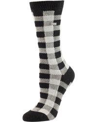 Sorel - Buffalo Plaid Socks - Lyst
