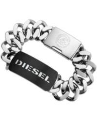 DIESEL - Heren Armband Dx0019040 - Lyst