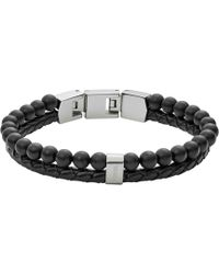 Fossil - Heren Armband Mens Vintage Casual Jf02763040 - Lyst