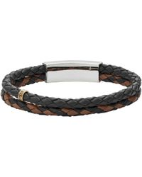 Fossil - Heren Armband Mens Vintage Casual Jf02758998 - Lyst