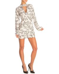 Guess - Athena Choker Rompers - Lyst