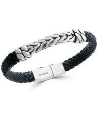 Effy - Sterling Silver Braided Bracelet - Lyst