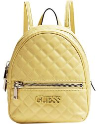 Guess - Elliana Quilted Rugzak - Lyst