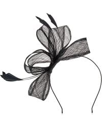 Precis Petite - Feather And Bow Fascinator - Lyst
