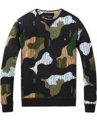 Scotch & Soda Sweater Met All-over Print