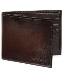 Perry Ellis | Boxed Michigan Slim Leather Bi-fold Wallet | Lyst