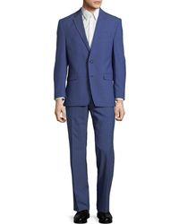 Lauren by Ralph Lauren | Ultra Fex Wool-blend Suit | Lyst