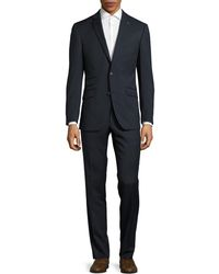 Ted Baker   Joey Grid Check Wool Suit   Lyst