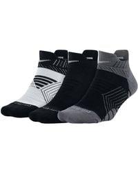 Nike | Three-pack Dry Cushioned Low Training Socks | Lyst