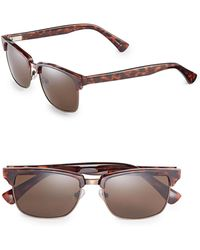 Dockers - 55mm Clubmaster Sunglasses - Lyst