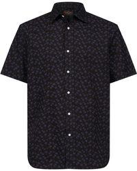 Black & Brown - Overhemd Met Korte Mouw - Lyst