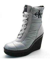 Ck Jeans - Sole Quilted Laars - Lyst