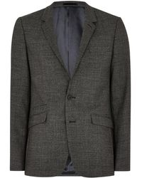 TOPMAN - Birdseye Wool-blend Ultra Skinny Suit Jacket - Lyst