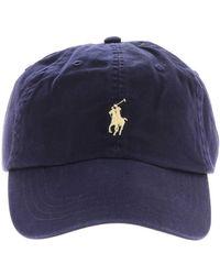 9b1b6d554a9a4c Polo Ralph Lauren Oversize Logo Baseball Cap in Blue for Men - Lyst