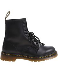 Dr. Martens - Anfibio 1460 Smooth nero - Lyst