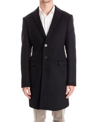 Armani - Single Breasted Coat - Lyst