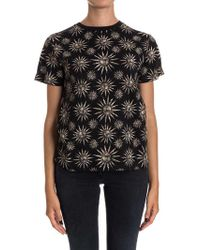 Fausto Puglisi - Cotton T-shirt - Lyst