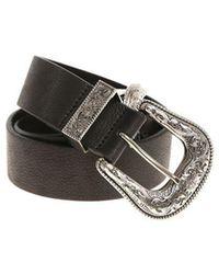 Black hammered belt B-Low The Belt BTnEs