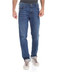 Trussardi - Jeans 5 Pockets Blue - Lyst