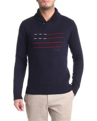 Woolrich - Flag Stripes Jumper - Lyst