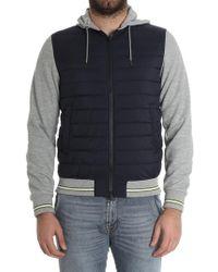 Herno - Padded Sweatshirt - Lyst