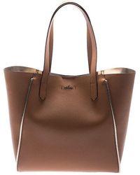 Hogan - Brown Leather Shoulder Bag - Lyst