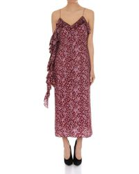 Magda Butrym - Burgundy Pozallo Dress - Lyst