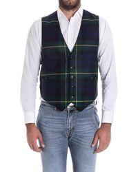 Paul Smith - Wool Vest - Lyst