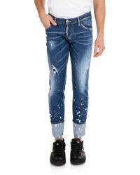 DSquared² - Jeans Regular Clement blu - Lyst
