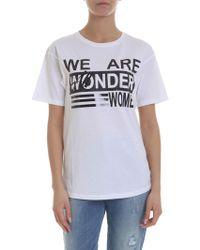 92e49ea796ae Acne Studios Wonder Linen T-shirt in Black - Lyst