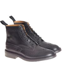 Tricker's - Leather Ankle Boots - Lyst