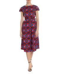 7546d92228a7 By Malene Birger Genua Oversized Dress in Purple - Lyst