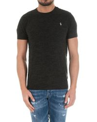 Polo Ralph Lauren - Black T-shirt With Logo - Lyst