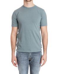 Zanone - Roundneck T-shirt - Lyst