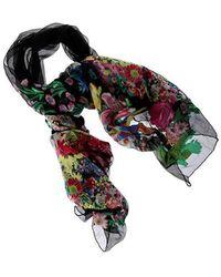 Black silk blend embroidered foulard Etro tCUXrszr
