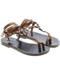 Isabel Marant - Brown Joxxy Sandals - Lyst