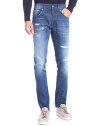 Dondup - Jeans Ritchie blu - Lyst