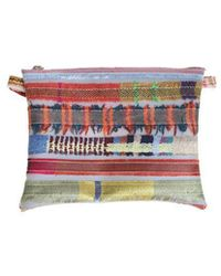 Luisa Cevese Riedizioni - Embroidered Shoulder Bag - Lyst