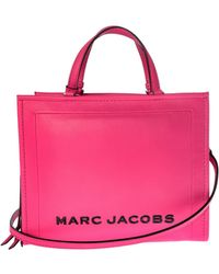 Marc By Marc Jacobs - The Box Shopper Fuchsia Bag - Lyst