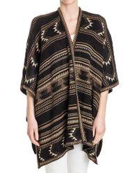 Polo Ralph Lauren - Silk And Linen Cardigan - Lyst