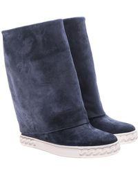 Casadei - Blue Renna Boots - Lyst