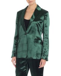 Paul Smith - Green Viscose Jacket - Lyst