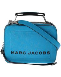Marc By Marc Jacobs - The Mini Box Bag In Bright Blue - Lyst
