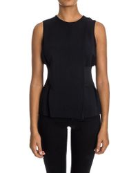 Alexander Wang - Top With Drapery - Lyst