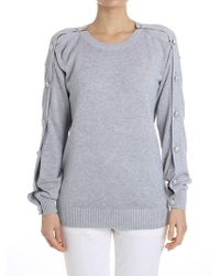 Michael Kors - Cotton And Viscose Sweater - Lyst