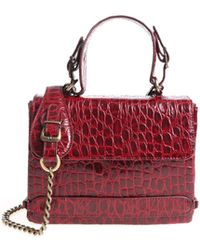 Antonio Marras - Franci Burgundy Shoulder Bag - Lyst