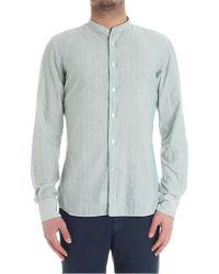 Glanshirt - Green Jared Striped Shirt - Lyst