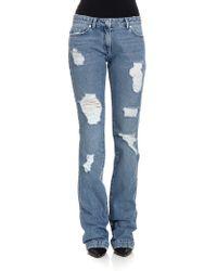 Blumarine - Flared Jeans - Lyst